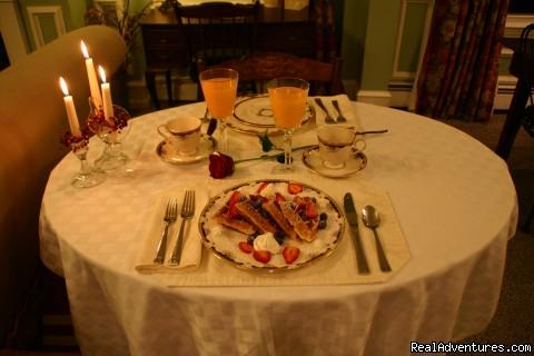 Breakfast (#9 of 13) - Carisbrooke Inn Bed & Breakfast