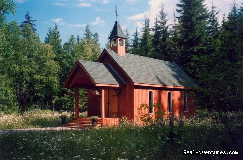 Schoolhouse / Chpel - Mulvehill Creek Wilderness Inn and Wedding Chapel