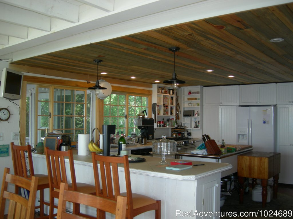 Open Kitchen | Image #12/13 | A Beach House Oceanfront Bed & Breakfast