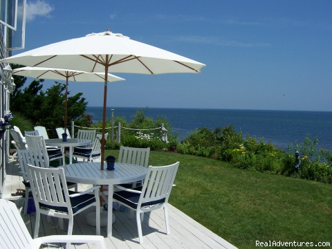 Blue sea, blue skies, clear water and you. - A Beach House Oceanfront Bed & Breakfast