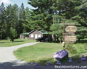 Entrance View - Adirondacks Cabins