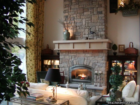 The Great Room at the Main Lodge - Romance & Spa Getaways at Lost Mountain Lodge