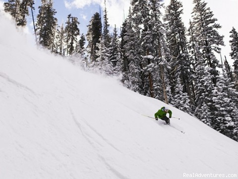 Great powder in Angel Fire! - Angel Fire Resort