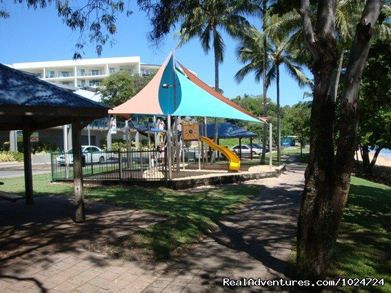 Childrens Playground on the Beachfront of Trinity Beach | Image #8/8 | Relax at Palms at Trinity Beach Apartments Cairns