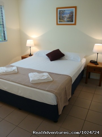 Superior Two Bedroom Apartment - Relax at Palms at Trinity Beach Apartments Cairns