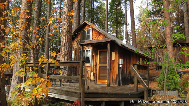 Sunset inn yosemite guest cabins groveland california for Yosemite national park cabin rentals