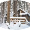 Larkspur Cabin in the Snow