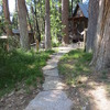 Pathway to Sugar Pine Cabin