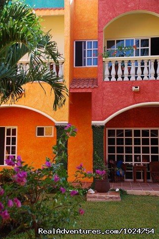 Vibrant Colors - Casa Colonial, Cozumel Vacation Villas