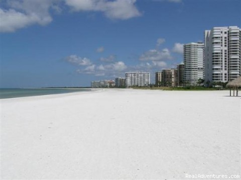 Miles of Beach - Marco Is. Waterfront Condos at Fun Anglers Cove