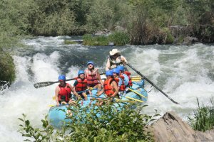 Whitewater Adventures - from mild to wild Rafting Trips Medford, Oregon