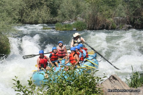 Whitewater Adventures - from mild to wild Medford, Oregon Rafting Trips