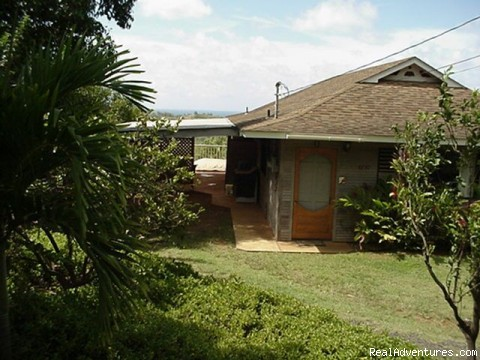 House of the Heavenly Sea | Image #1/6 | Kilauea, Hawaii  | Vacation Rentals | Bluff-front Beach/View House with Sunken Spa