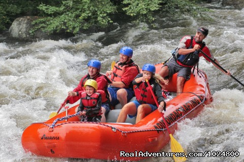 Kid fun - Adirondac Rafting Company