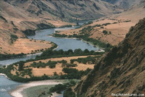 Suicide Point in Hells Canyon - Whitewater Rafting