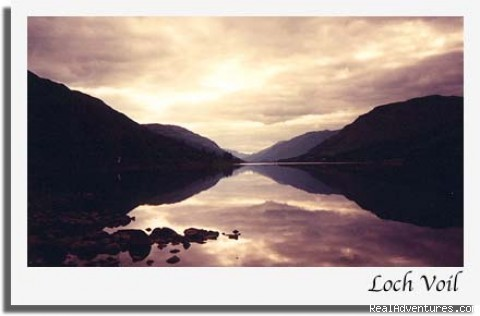 Loch Voil Sunset - Stronvar House Scotland National Park