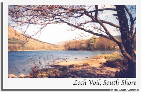 Loch Voil - Stronvar House Scotland National Park