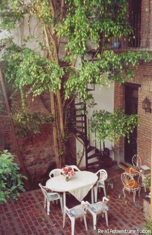 Lina's Tango Guesthouse: patio