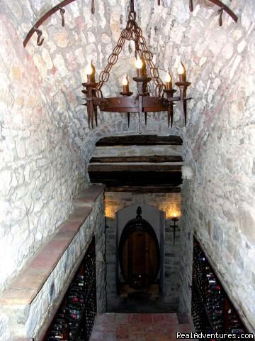 Wine Cellar - Villa Sant'Andrea Cortona