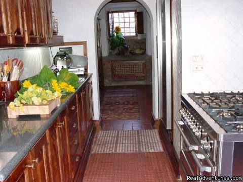 Kitchen - Villa Sant'Andrea Cortona