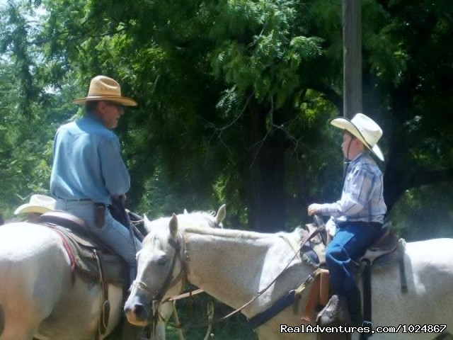 Coaching a Young Student (#11 of 26) - Scenic Horseback  Lessons