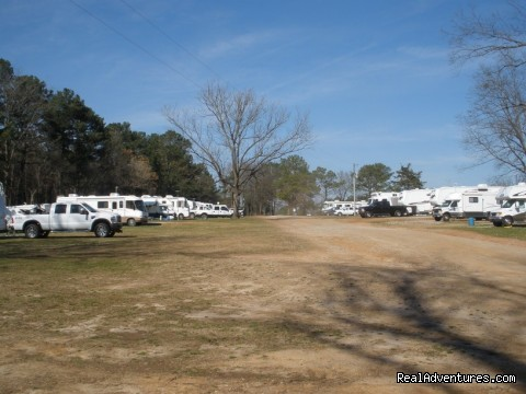 100 RV Sites 30 & 50 Amp - Durhamtown Plantation Sportsmans Resort
