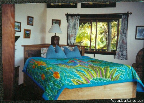 Skyhouse bed room, facing ocean view - Fairytale luxury private home