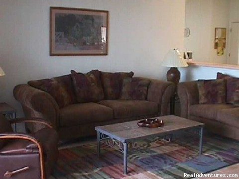 Livingroom - Rental Near Disney, Universal Studios & Sea World