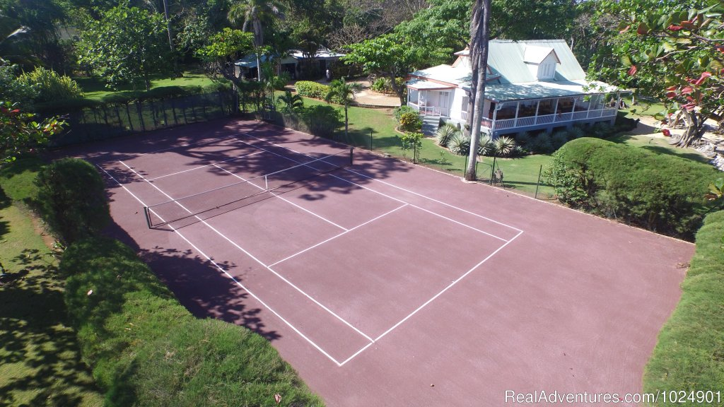 Northeast Fast Dry Red Clay Court