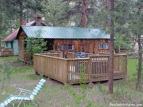 Rustic Pinewood  Cabin - Dripping Springs Inn and Cabins