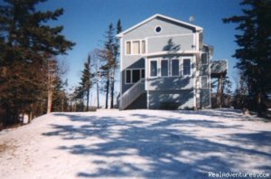 Solitude & Stunning Views on 2 Ocean Beaches Vacation Rentals Parrsboro, Nova Scotia
