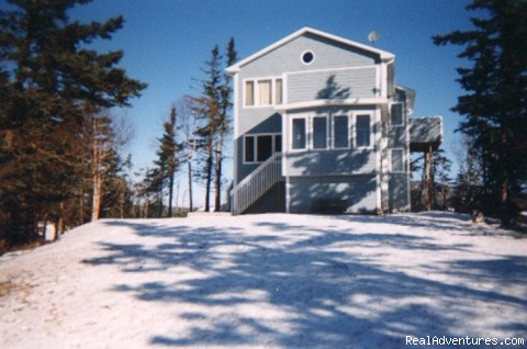 Beach House in winter  - Beach House on Hatfield Road