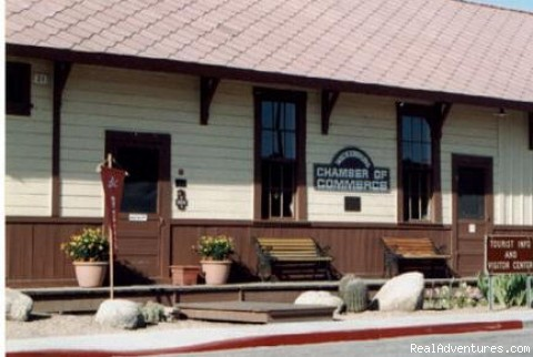Historic Santa Fe Depot - Wickenburg Tourism Authority