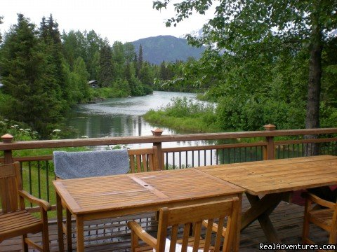 Located on Trail River 5 mi. south of Moose Pass at Mile 24.5 on the Seward Hwy, 20 minutes from Seward. This is a   great place for families who love the outdoors. There are trails to hike, & lakes/rivers to fish, for a real Alaskan vacation.