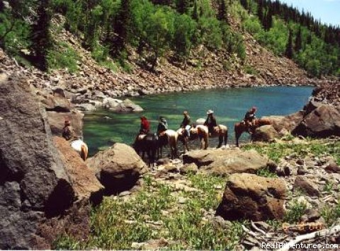 Green Lake on Boulder Mountain - Horses, Hiking and tours in Utah