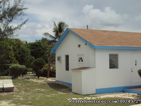 Front view of 1/2 bedroom cottage - Get Away From It All At Cartwrights Ocean Front
