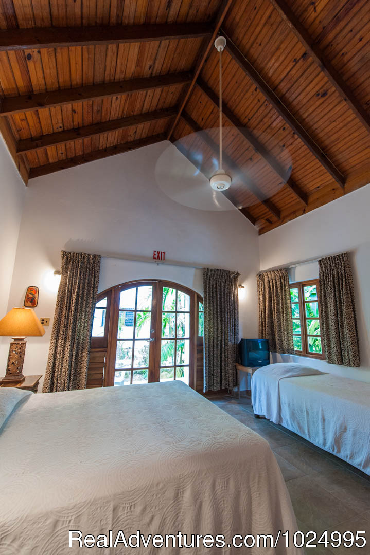 Lower Jungle House Bedroom 2 | Image #8/16 | Caribbean Castles at Beach House Villas