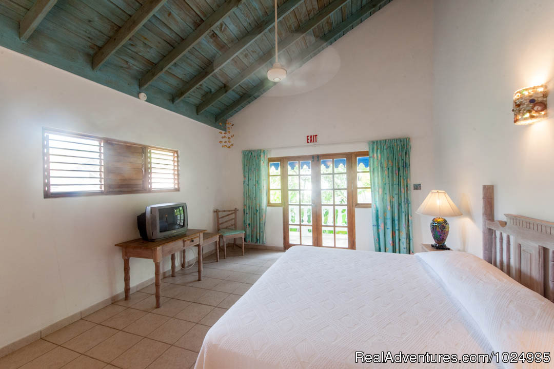 Upper Reef House King Bedroom | Image #12/16 | Caribbean Castles at Beach House Villas