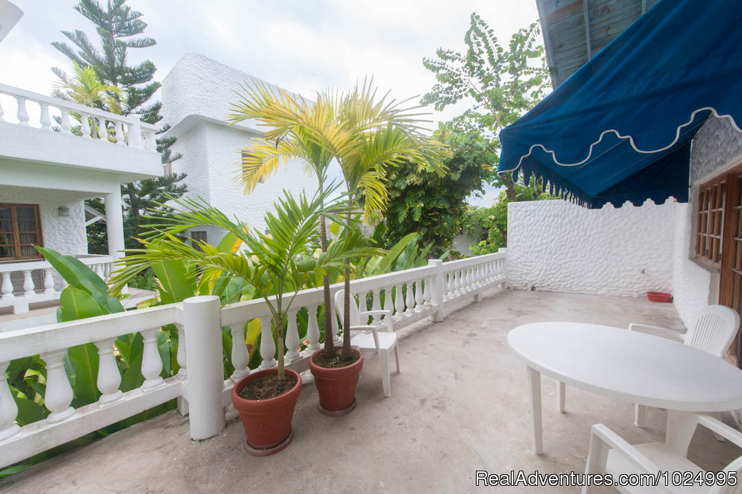 Upper Reef House Patio | Image #13/16 | Caribbean Castles at Beach House Villas