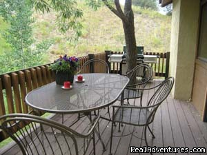 Nice deck for summer fun. 3br+loft - Vail/Beaver Creek Summer-Winter Vacation Rentals