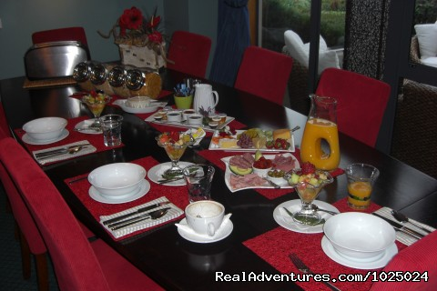 breakfast - New Zealand Custom Tours by Tailored Travel