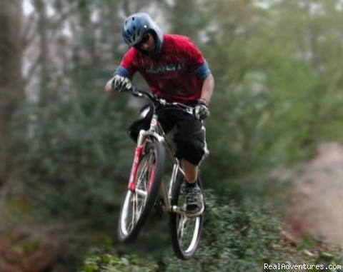 Mountain Biking - Airborne | Image #1/4 | Windham, Maine  | Hiking & Trekking | Maine Multisport