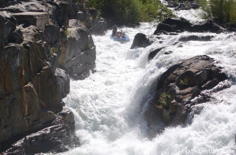 Guided Whitewater Adventures In California Lotus