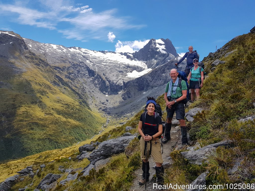 Gillespie Pass | Image #3/9 | New Zealand Wild Walks with Aspiring Guides