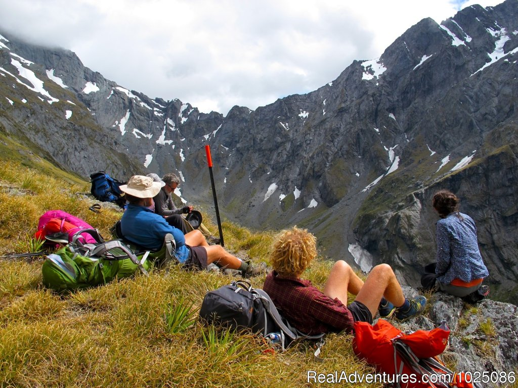 Rabbit Pass | Image #4/9 | New Zealand Wild Walks with Aspiring Guides