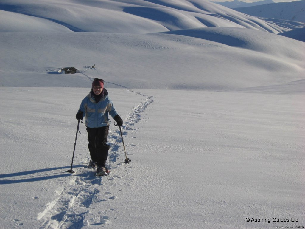 Winter Snow Shoe Trek | Image #6/9 | New Zealand Wild Walks with Aspiring Guides