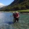 River Crossing, Rabbit Pass Trek