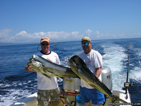 Double Dorado in Costa Rica (#3 of 6) - Mar Huron Costa Rica Sportfishing Villa