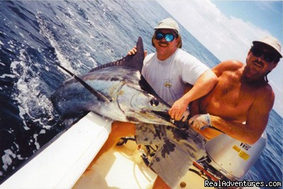 Marlin Fishing Costa Rica - Mar Huron Costa Rica Sportfishing Villa