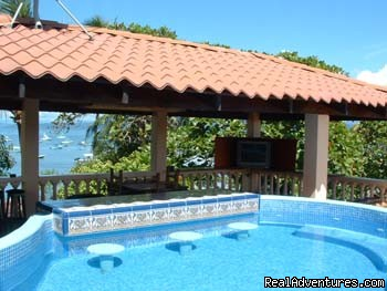 Roof Top Pool, Pier View, Fishack Villa Costa Rica (#1 of 6) - Mar Huron Costa Rica Sportfishing Villa